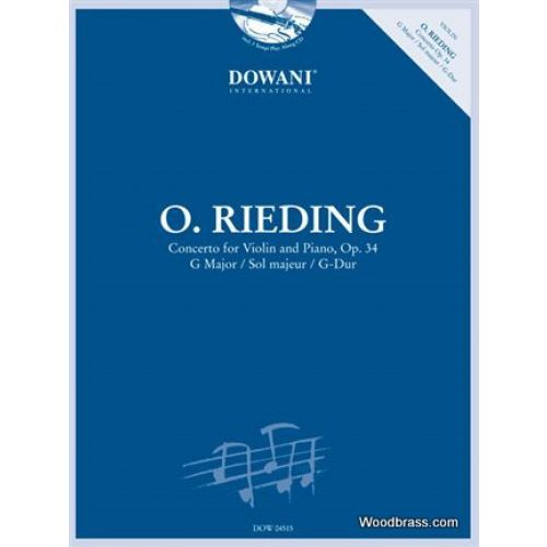 DOWANI RIEDING O. - CONCERTO FOR VIOLIN & PIANO OP.34 + CD