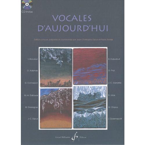 BILLAUDOT VOCALES D'AUJOURD'HUI + CD