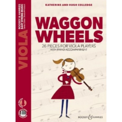 BOOSEY & HAWKES COLLEDGE K. & H. - WAGGON WHEELS - ALTO (AUDIO ONLINE + PIANO)