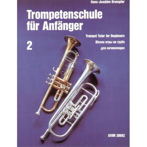 EDITION BREITKOPF KRUMPFER HANS-JOACHIM - TROMPETENSCHULE FUR ANFANGER 2 - TRUMPET