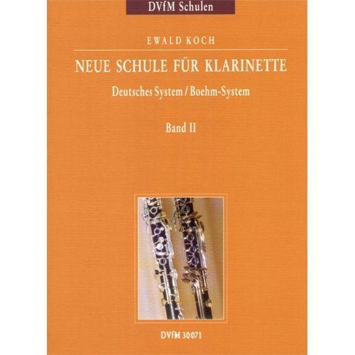 EDITION BREITKOPF KOCH EWALD - NEUE SCHULE FUR KLARINETTE 2 - CLARINET