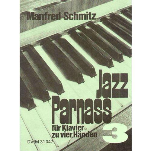 EDITION BREITKOPF SCHMITZ MANFRED - JAZZ PARNASS, BAND 3 - PIANO