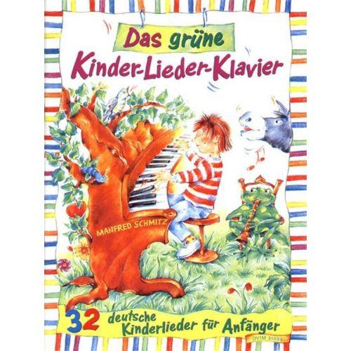 EDITION BREITKOPF SCHMITZ MANFRED - GRUNE KINDER-LIEDER-KLAVIER - PIANO