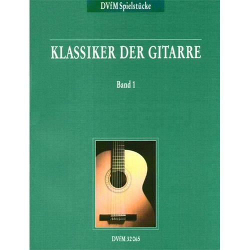 EDITION BREITKOPF KLASSIKER DER GITARRE, BAND 1 - GUITAR