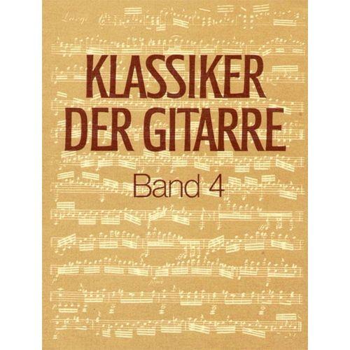EDITION BREITKOPF KLASSIKER DER GITARRE, BAND 4 - GUITAR