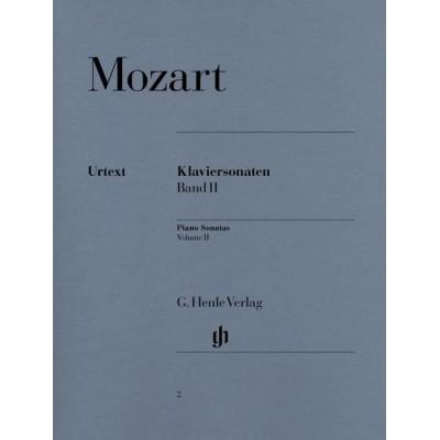 HENLE VERLAG MOZART W.A. - PIANO SONATAS, VOLUME II