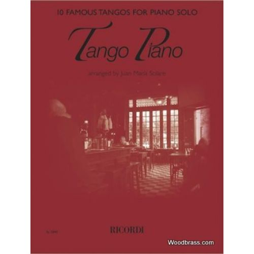 SALABERT TANGO PIANO - 10 FAMOUS TANGOS FOR PIANO SOLOS