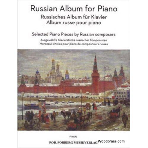 FORBERG RUSSIAN ALBUM FOR PIANO