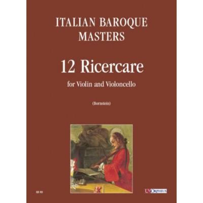 UT ORPHEUS ITALIAN BAROQUE MASTERS - 12 RICERCARE POUR VIOLON ET VIOLONCELLE