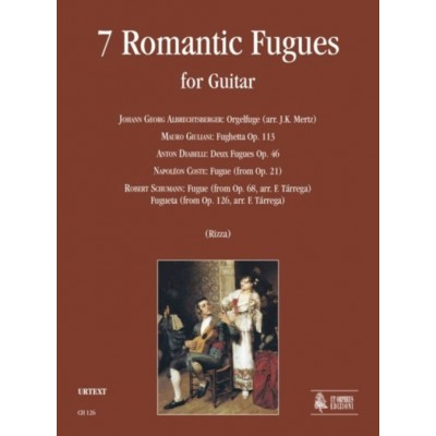 UT ORPHEUS 7 ROMANTIC FUGUES FOR GUITAR