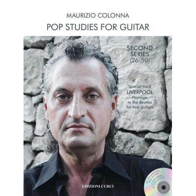 CURCI COLONNA MAURIZIO - POP STUDIES FOR GUITAR 2nd SERIE (26-50)