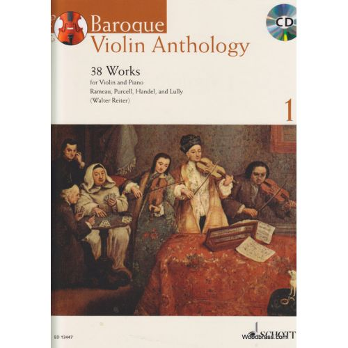 SCHOTT BAROQUE VIOLIN ANTHOLOGY VOL. 1 - VIOLON