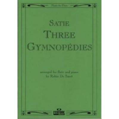 FENTONE MUSIC SATIE ERIK - 3 GYMNOPEDIES - FLUTE & PIANO