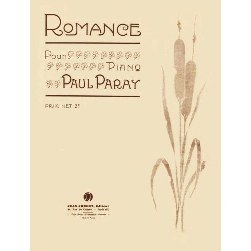 JOBERT PARAY PAUL - ROMANCE - PIANO