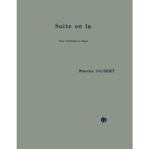 JOBERT JAUBERT MAURICE - SUITE EN LA - VIOLONCELLE, PIANO