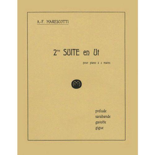 JOBERT MARESCOTTI A.F. - SUITE N°2 EN UT - PIANO