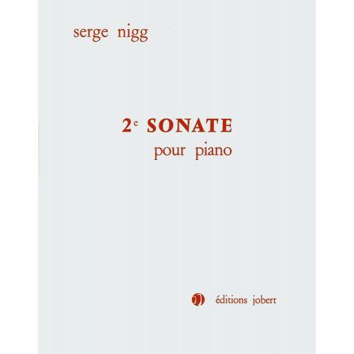 JOBERT NIGG SERGE - SONATE N°2 POUR PIANO - PIANO