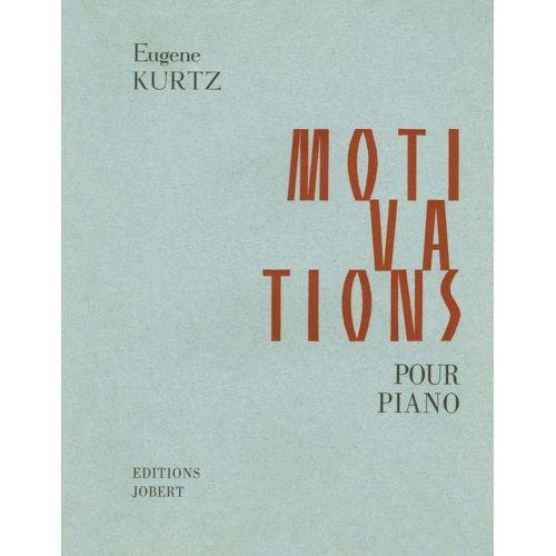 JOBERT KURTZ EUGENE - MOTIVATIONS (LIVRES 1 ET 2) - PIANO