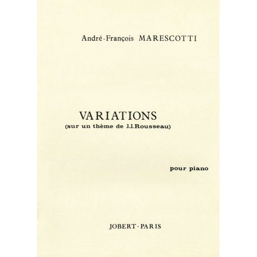 JOBERT MARESCOTTI A.F. - VARIATIONS - PIANO