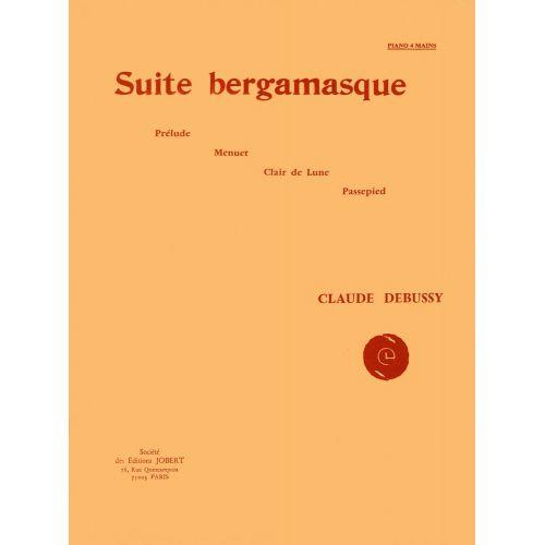 JOBERT DEBUSSY C. - SUITE BERGAMASQUE - PIANO 4 MAINS
