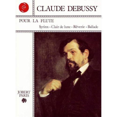 JOBERT DEBUSSY C. - POUR LA FLUTE - FLUTE, PIANO