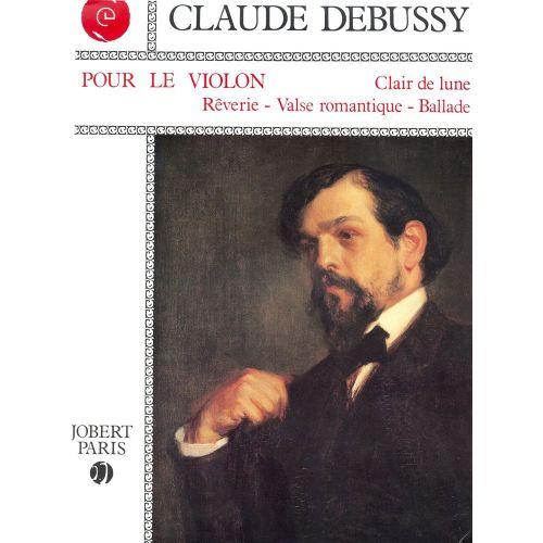 JOBERT DEBUSSY C. - POUR LE VIOLON - VIOLON, PIANO