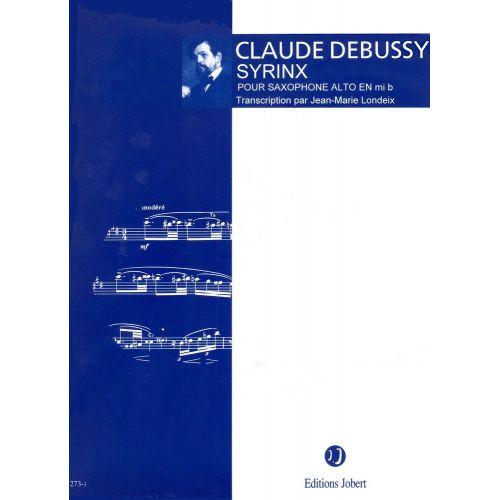 JOBERT DEBUSSY C. - SYRINX - SAXOPHONE ALTO SOLO