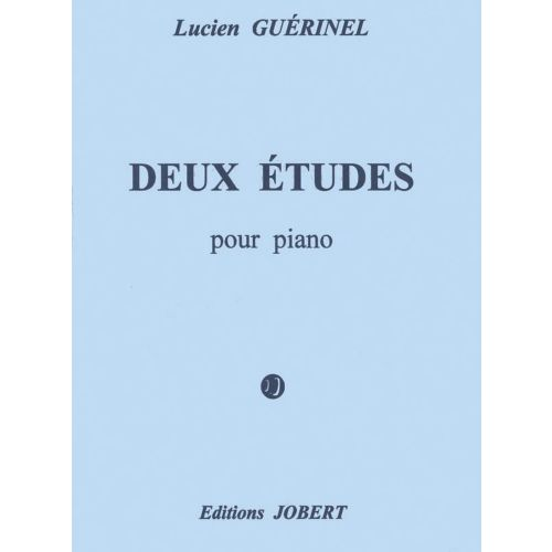 JOBERT GUERINEL LUCIEN - ETUDES (2) - PIANO