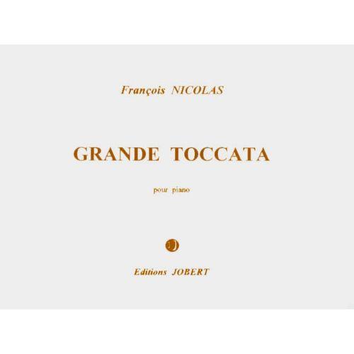 JOBERT NICOLAS FRANCOIS - GRANDE TOCCATA - PIANO