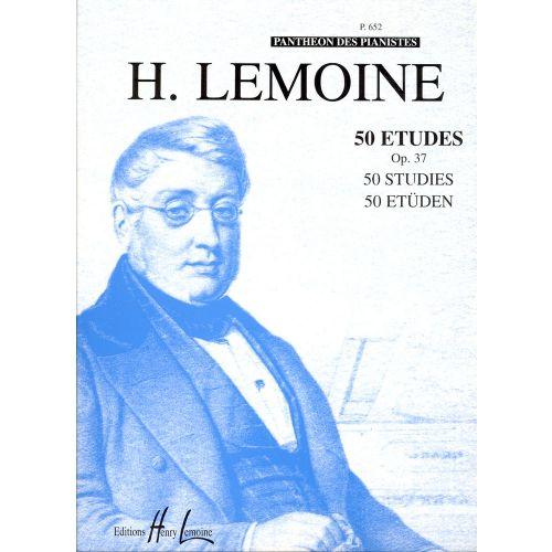 LEMOINE HENRY - ETUDES FACILES (50) OP.37 - PIANO