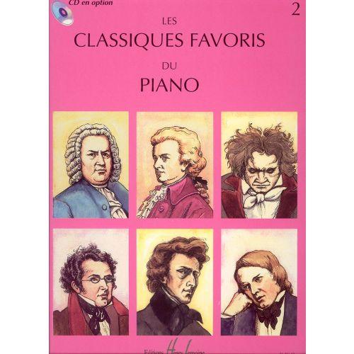 LEMOINE CLASSIQUES FAVORIS VOL.2 - PIANO