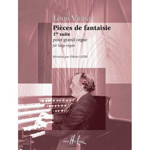 LEMOINE VIERNE LOUIS - PIECES DE FANTAISIE OP.51 SUITE N°1 - ORGUE