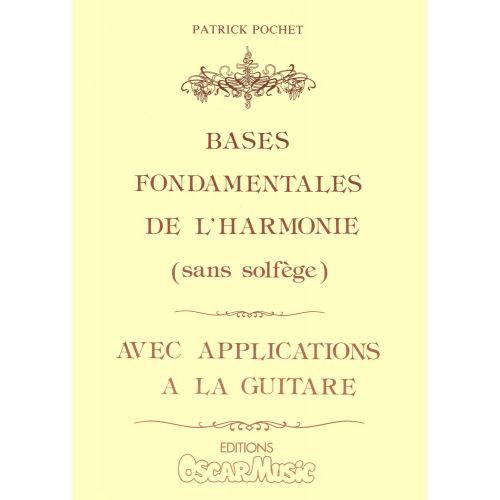 LEMOINE POCHET PATRICK - BASES FONDAMENTALES DE L'HARMONIE - GUITARE