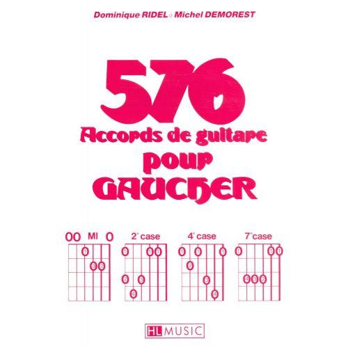 LEMOINE DEMOREST MICHEL - ACCORDS POUR GAUCHER (576) - GUITARE