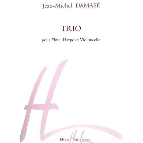 LEMOINE DAMASE JEAN-MICHEL - TRIO OP.1 - FLUTE, HARPE, VIOLONCELLE