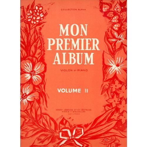 LEMOINE ESPEJO CESAR - MON PREMIER ALBUM VOL.2 - VIOLON, PIANO