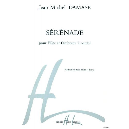 LEMOINE DAMASE JEAN-MICHEL - SERENADE - FLUTE, PIANO