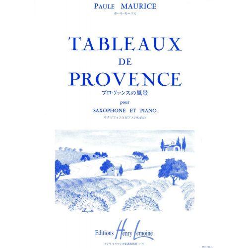 LEMOINE MAURICE PAULE - TABLEAUX DE PROVENCE - SAXOPHONE, PIANO