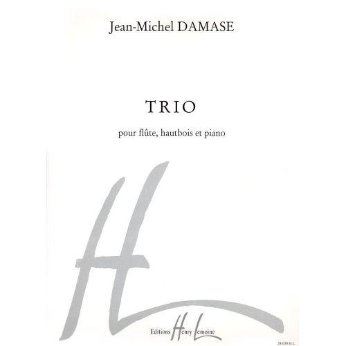 LEMOINE DAMASE JEAN-MICHEL - TRIO - FLUTE, HAUTBOIS, PIANO