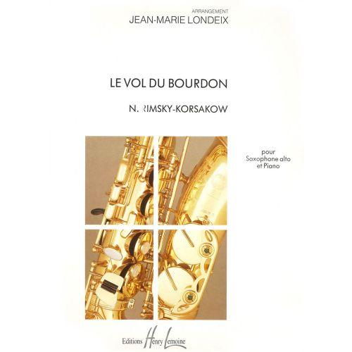 LEMOINE RIMSKY-KORSAKOV N. - VOL DU BOURDON - SAXOPHONE MIB, PIANO