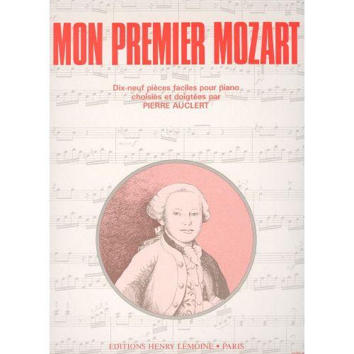 LEMOINE MOZART W.A. - MON PREMIER MOZART (AUCLERT) - PIANO