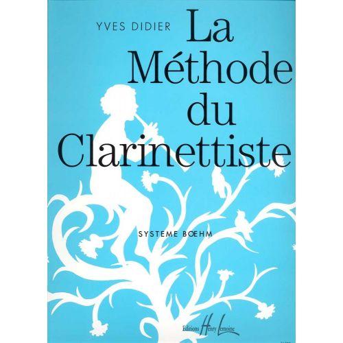 LEMOINE DIDIER YVES - MÉTHODE DU CLARINETTISTE