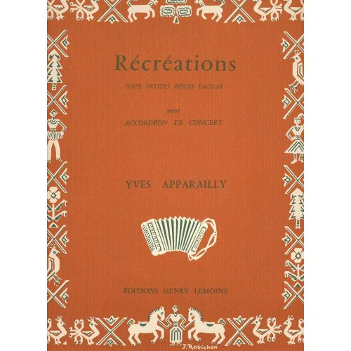 LEMOINE APPARAILLY YVES - RECREATIONS - ACCORDEON