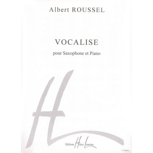 LEMOINE ROUSSEL ALBERT - VOCALISE - SAXOPHONE MIB, PIANO