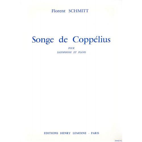 LEMOINE SCHMITT FLORENT - SONGE DE COPPELIUS - SAXOPHONE SIB, PIANO