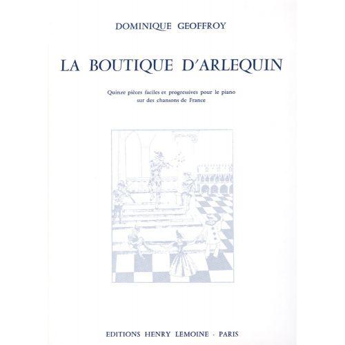 LEMOINE GEOFFROY DOMINIQUE - BOUTIQUE D'ARLEQUIN - PIANO