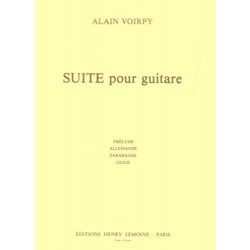 LEMOINE VOIRPY ALAIN - SUITE POUR GUITARE - GUITARE