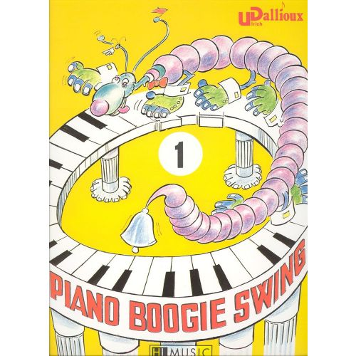 LEMOINE DALLIOUX ULRICH - PIANO BOOGIE SWING VOL.1 - CLAVIER