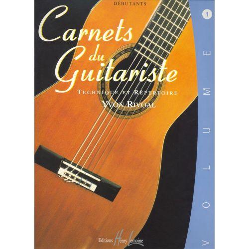LEMOINE RIVOAL YVON - CARNETS DU GUITARISTE VOL.1