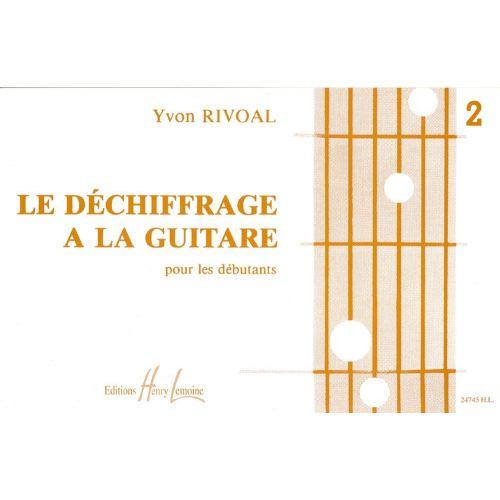LEMOINE RIVOAL YVON - DÉCHIFFRAGE À LA GUITARE VOL.2